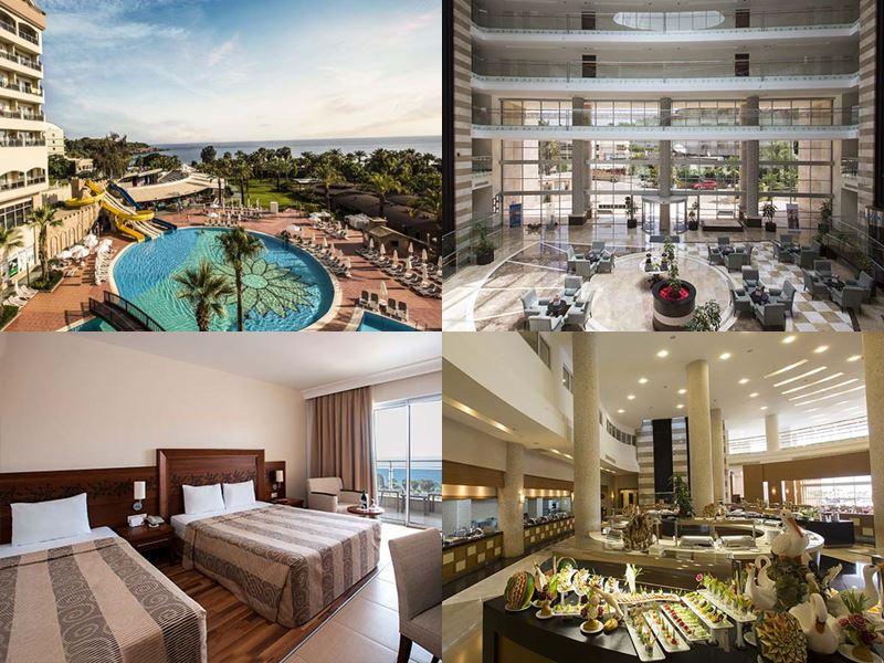 Лучшие отели Аланьи 5 звёзд «Всё включено» - Kirman Leodikya Resort