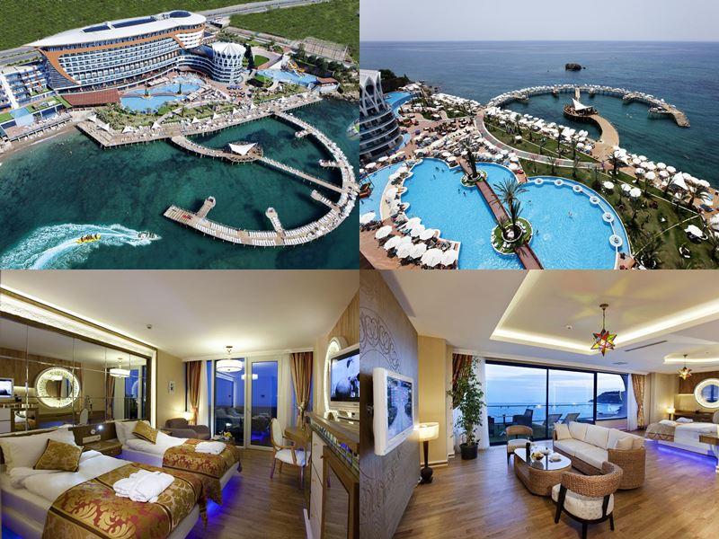 Лучшие отели Аланьи 5 звёзд «Всё включено» - Granada Luxury Resort Okurcalar в Окурджаларе