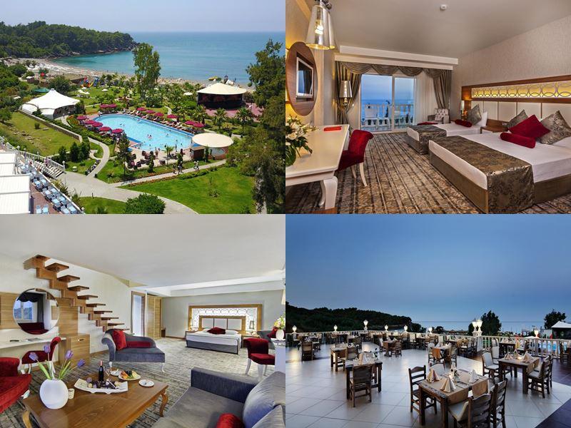 Лучшие отели Аланьи 5 звёзд «Всё включено» - Justiniano Deluxe Resort в Окурджаларе