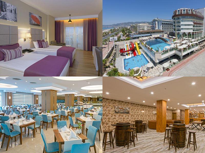 Лучшие отели Аланьи 5 звёзд «Всё включено» -
