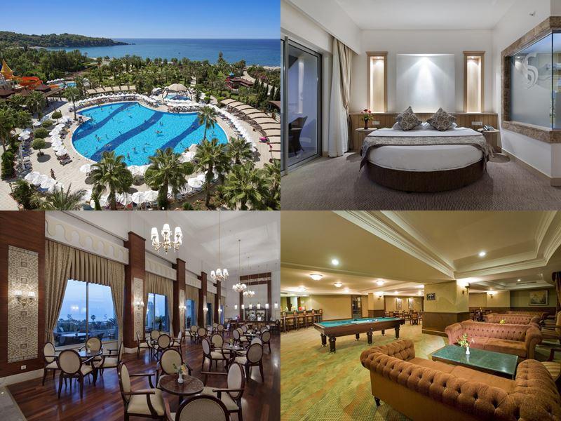 Лучшие отели Аланьи 5 звёзд «Всё включено» - Saphir Resort & Spa в Окурджаларе
