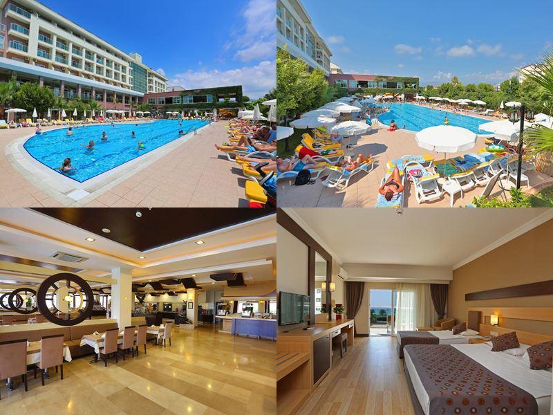 Лучшие отели Аланьи 5 звёзд «Всё включено» - Telatiye Resort Hotel в в Окурджаларе