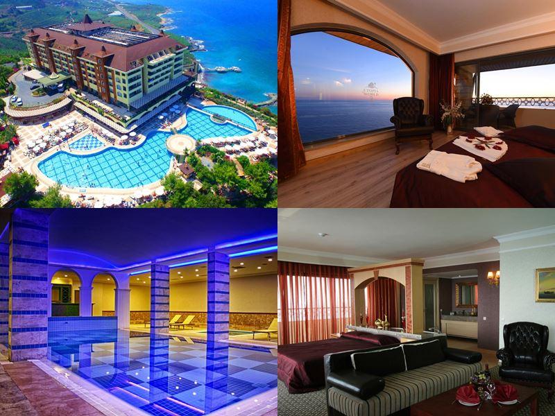 Лучшие отели Аланьи 5 звёзд «Всё включено» - Utopia World Hotel в пос. Каргыджак, Аланья