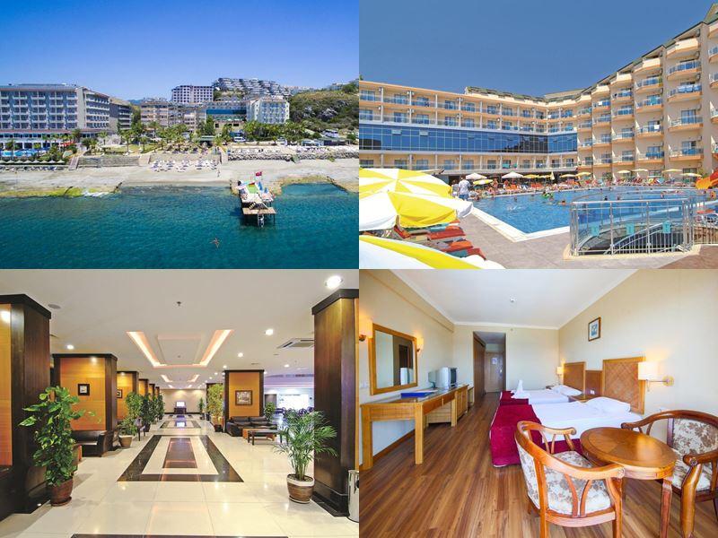 Лучшие отели Аланьи 5 звёзд «Всё включено» - Nox Inn Beach Resort & Spa Hotel в Конаклы
