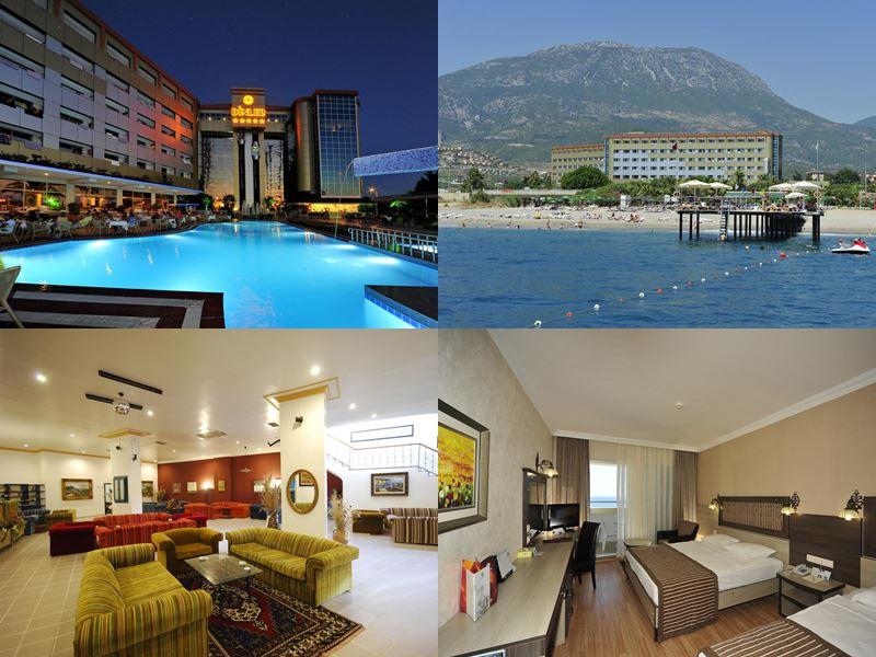 Лучшие отели Аланьи 5 звёзд «Всё включено» - Dinler Hotel в пос. Каргыджак