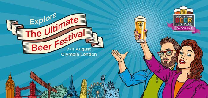 Пивные фестивали Европы 2018 - Британский фестиваль пива в Лондоне (Великобритания)