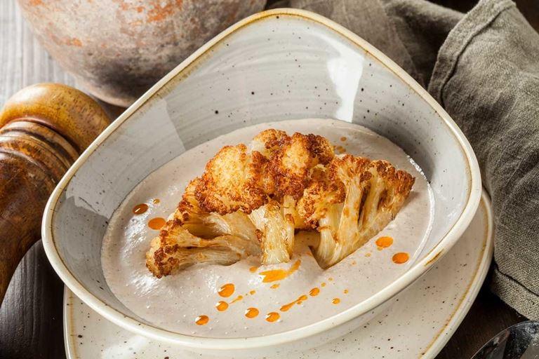 Постное меню в ресторане «Кувшин» - Сациви с цветной капустой