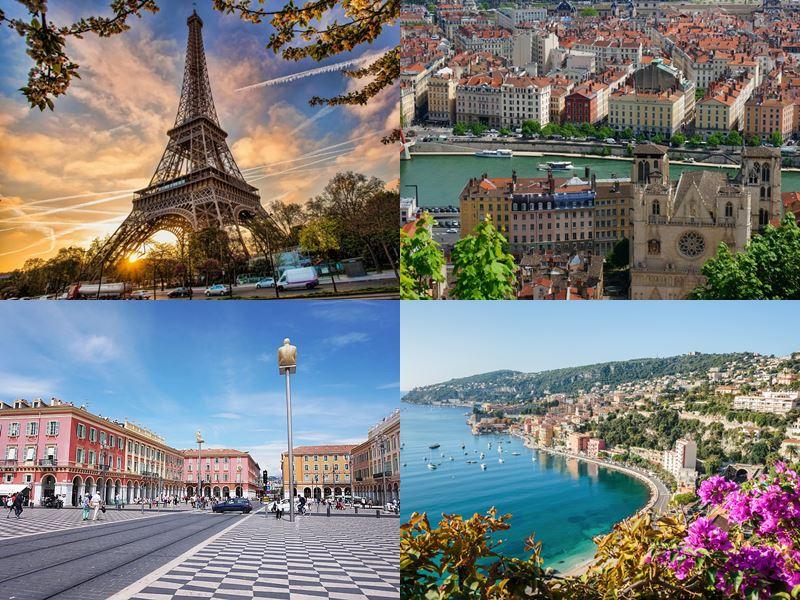 Прямые рейсы во Францию: из Москвы и Санкт-Петербурга без пересадок