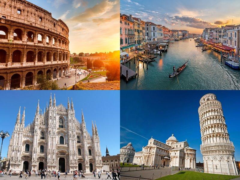 Прямые рейсы в Италию: из Москвы без пересадок