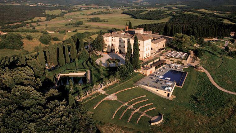 Замок Castello Di Casole в Тоскане – новый курорт Belmond