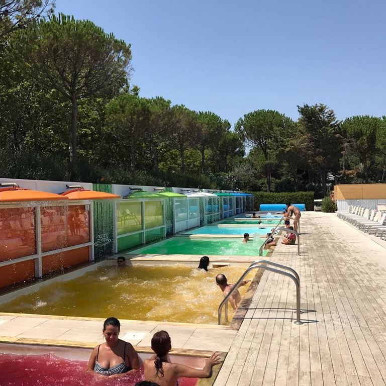 Регион Эмилия-Романья (Италия) - Термальный парк Perle d'Acqua Park в Риччоне