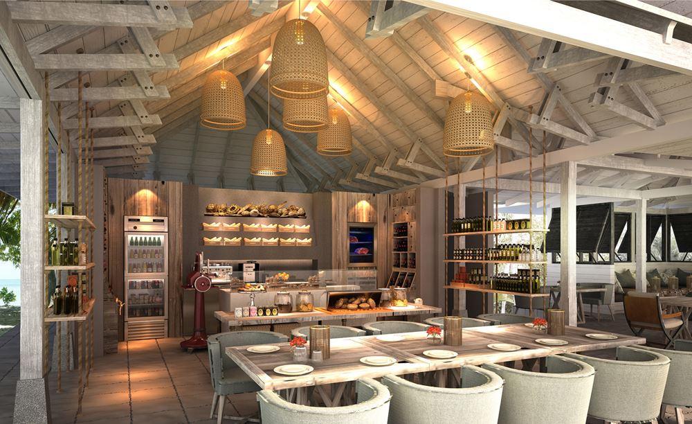 Отель Four Seasons Resort Seychelles at Desroches Island - Ресторан The Deli