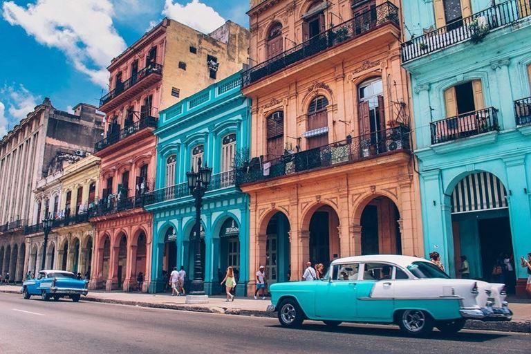 Российские туристы стали чаще ездить на Кубу - улицы гаваны, столицы Кубы