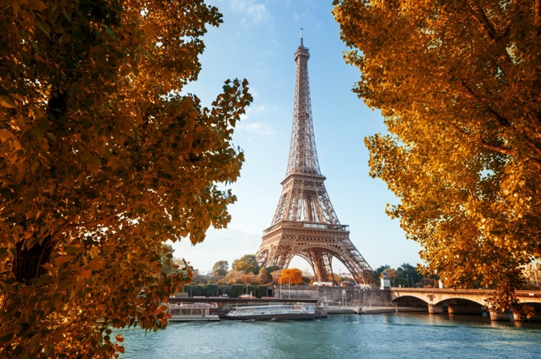 Париж осенью: сентябрь, октябрь, ноябрь (видео)