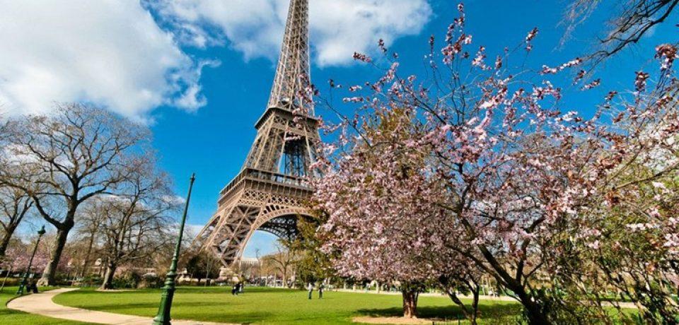 Париж весной: март, апрель, май (видео)