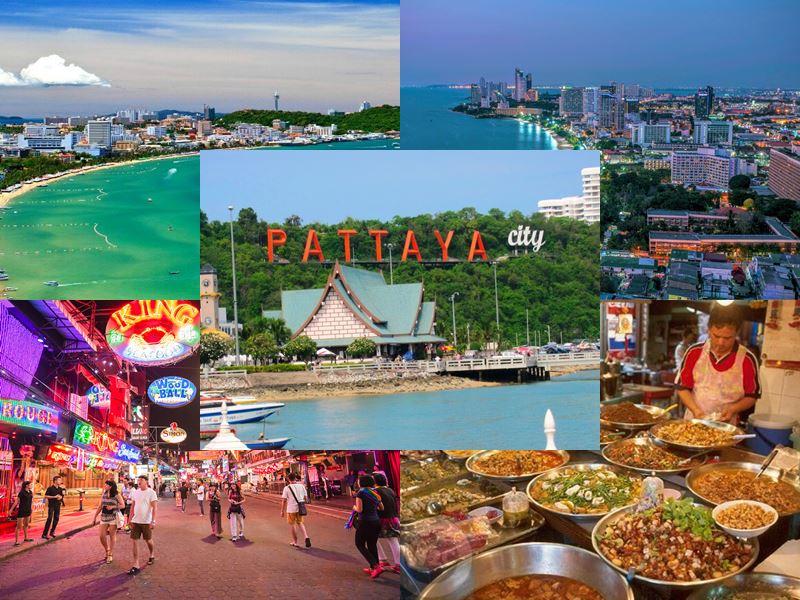 Паттайя (Таиланд) – видео туристов (еда, пляжи, магазины)