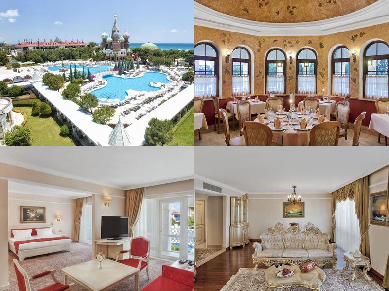 PEGAS Touristik - отдых в отелях-дворцах Антальи 2018 - Pgs Hotels Kremlin Palace