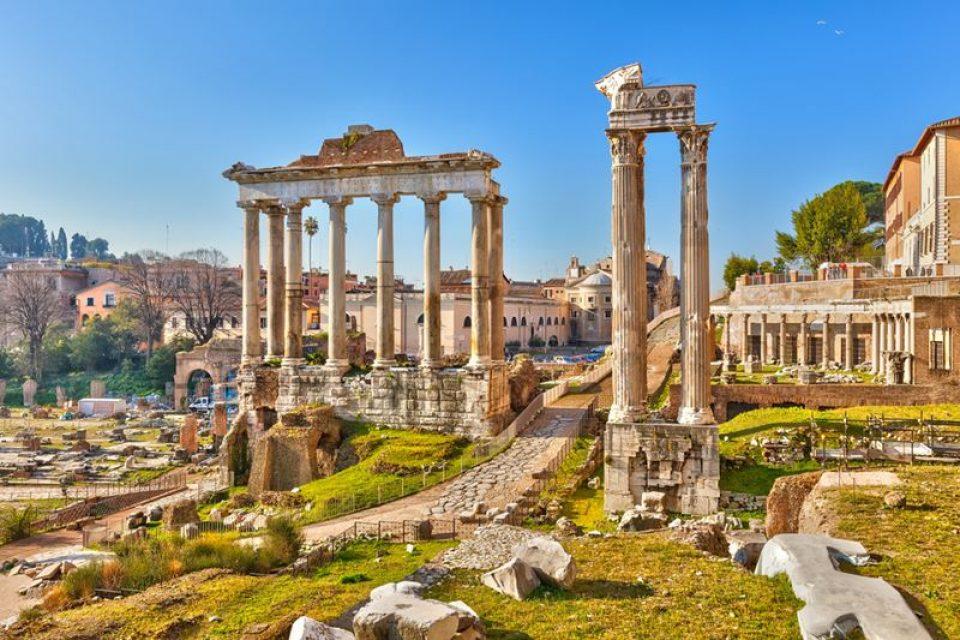 Рим летом: июнь, июль, август (видео)