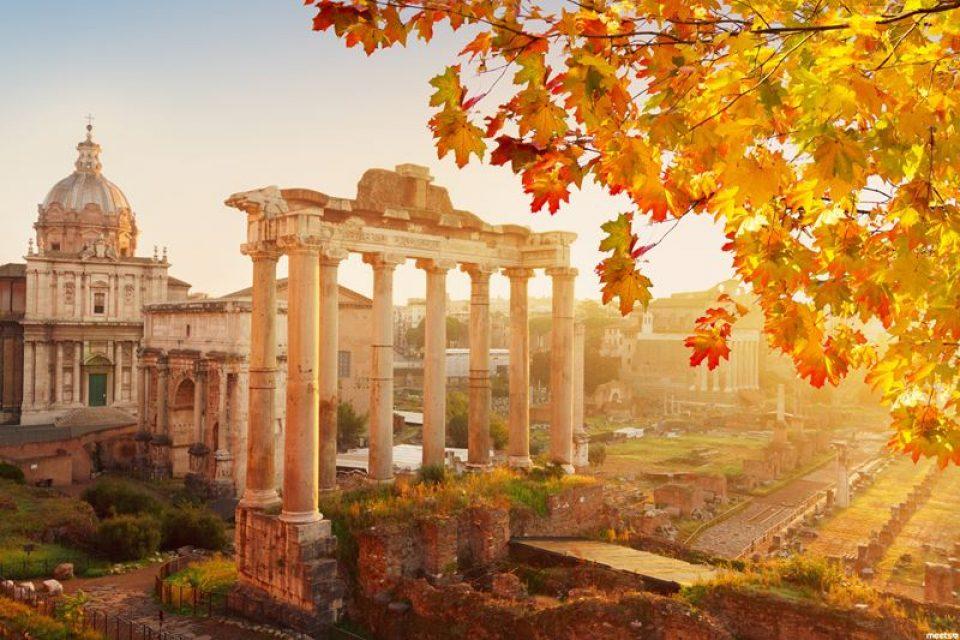 Рим осенью: сентябрь, октябрь, ноябрь (видео)