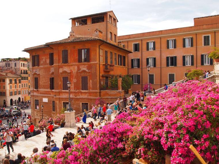 Рим весной: март, апрель, май (видео)