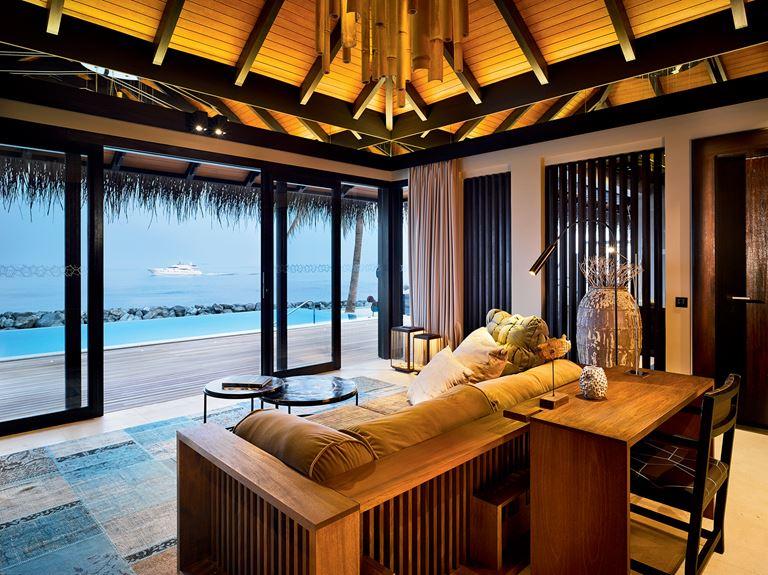Романтические Мальдивы с Velaa Private Island - Вилла Romantic Pool Residence с видом на океан