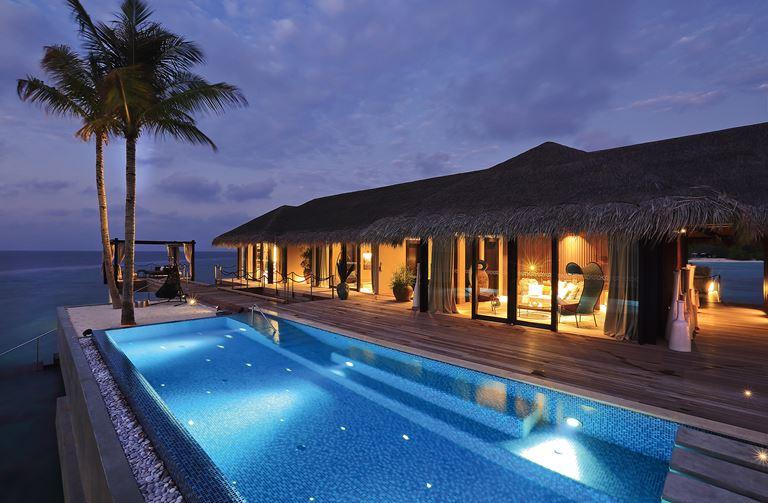 Романтические Мальдивы с Velaa Private Island - Частные виллы с открытым бассейном