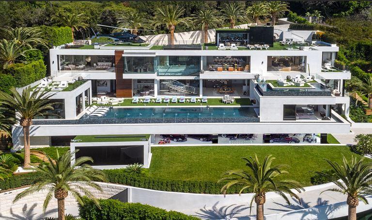 Топ-10 самых дорогих вилл в мире - Особняк в Бель Эр, Лос-Анджелес (США)