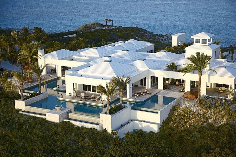 Топ-10 самых дорогих вилл в мире - Вилла на острове Овериондер Кей (Багамские острова, США)