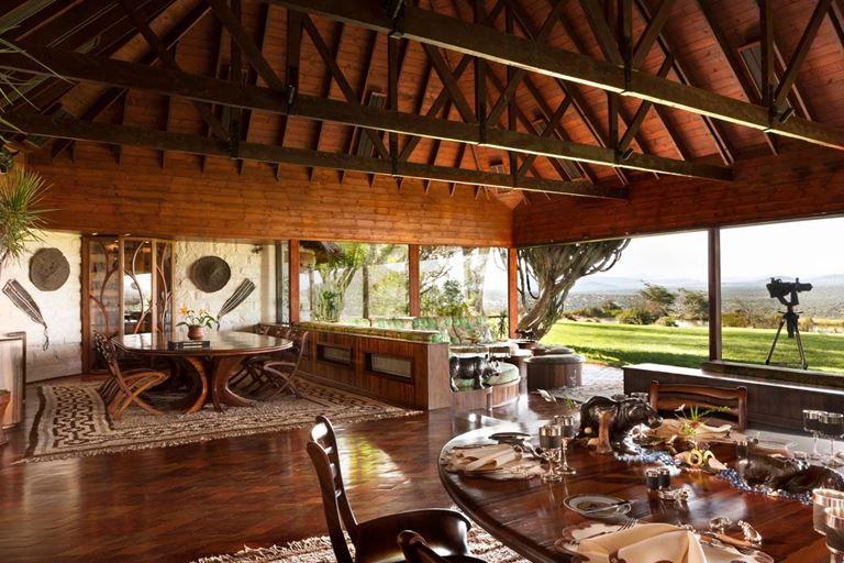 Топ-10 самых дорогих вилл в мире - Вилла на ранчо в Ол Джоги (Кения, Африка)