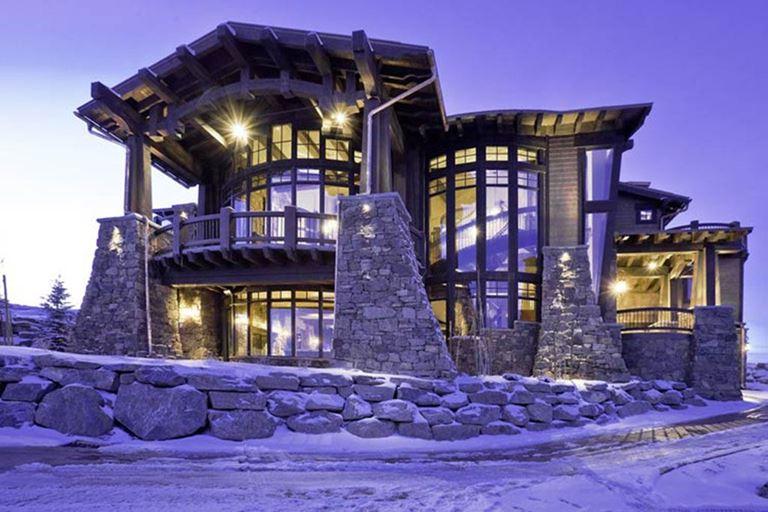 Топ-10 самых дорогих вилл в мире - Вилла Ski Dream (Юта, США)