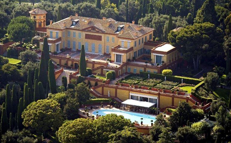 Топ-10 самых дорогих вилл в мире - Вилла Леопольда (Вильфранш-сюр-Мер, Лазурный берег)