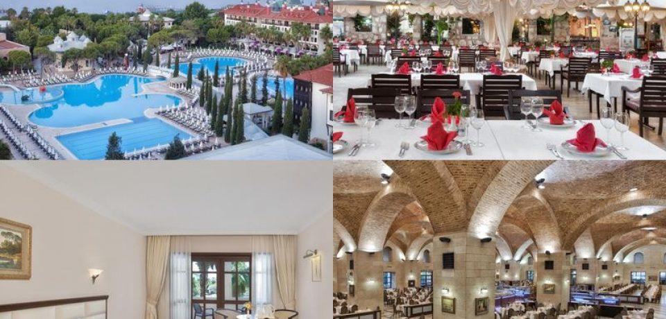 PEGAS Touristik предлагает отдых в отелях-дворцах Антальи