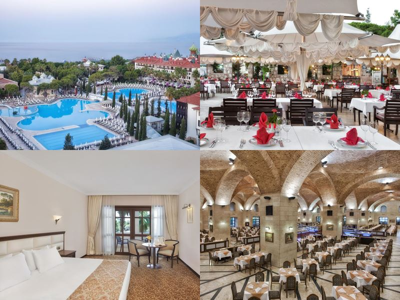 PEGAS Touristik - отдых в отелях-дворцах Антальи 2018 - Swandor Hotels & Resorts Topkapi Palace