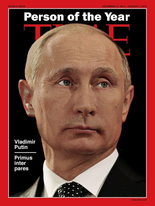 Владимир Путин фото обложек журналов - Time (декабрь 2014 – январь 2015)