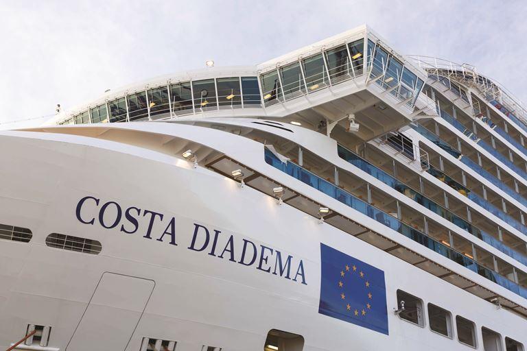 Круизный лайнер Costa Diadema