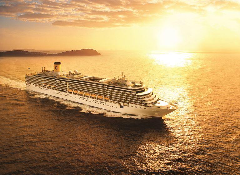 Costa Cruises представляет новые круизные маршруты в 2019 году
