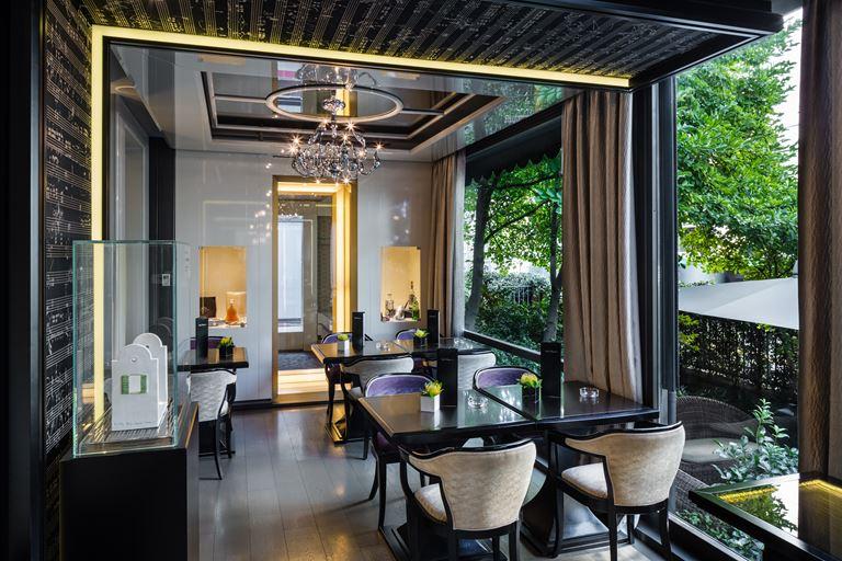Hotel Carlton Baglioni - номер с видом на сад