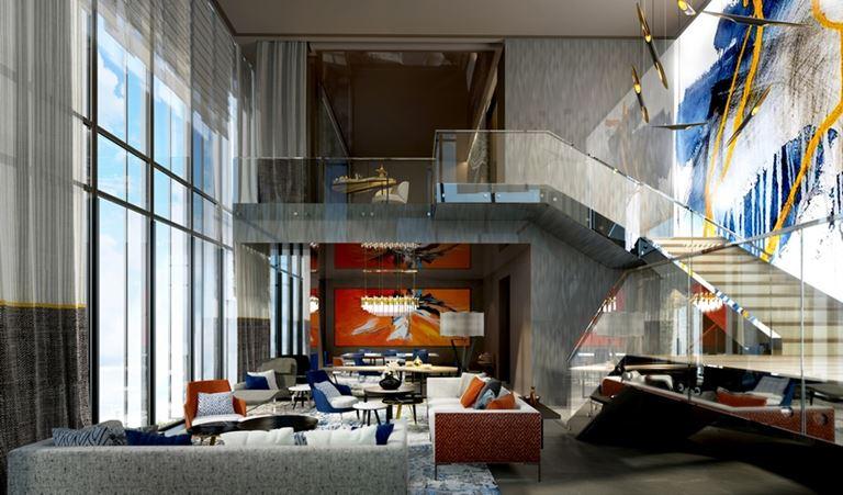 Инновационный городской курорт One Za'abeel, расположенный в центре Дубая