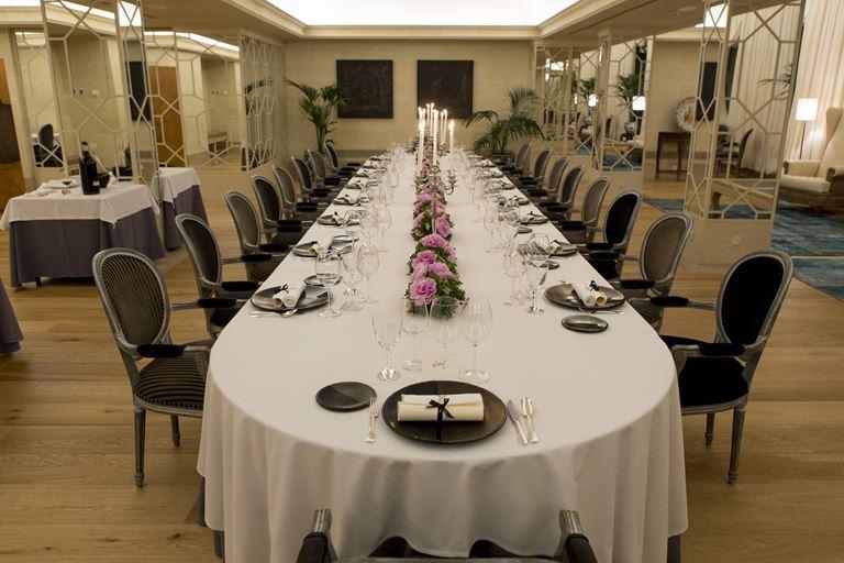 Majestic Hotel & Spa Barcelona отмечает юбилей - ужин в ресторане