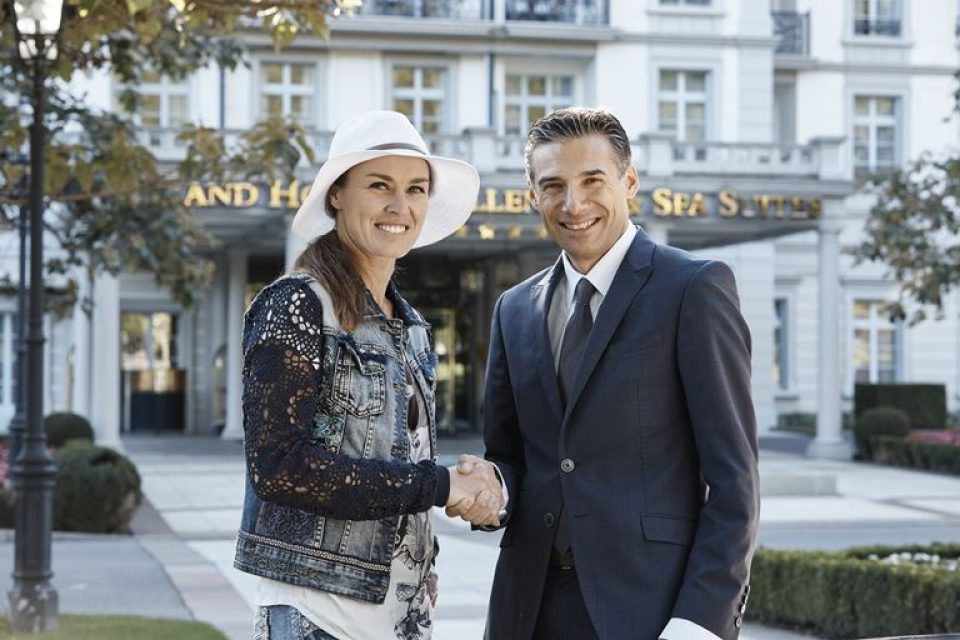 Мартина Хингис стала амбассадором курорта Grand Resort Bad Ragaz