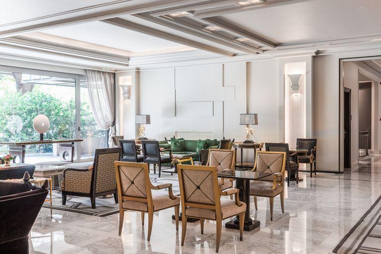 Отель Villa Magna в Мадриде – красивый интерьер