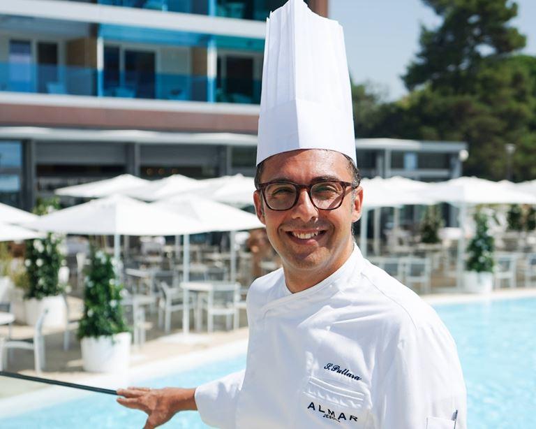 Сальваторе Пуллара - шеф-повар ресторана Mediterra курорта Almar Jesolo Resort&Spa