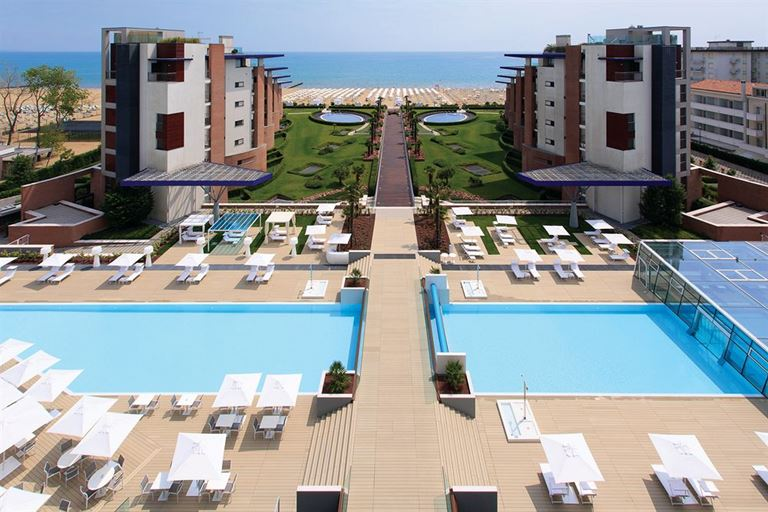 Almar Jesolo Resort&Spa - вид на море