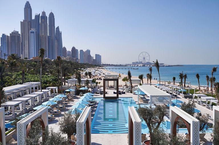 DRIFT Beach Club – новое место для пляжного отдыха в Дубае