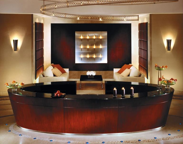 Four Seasons Hotel Doha - спа-центр с ванной