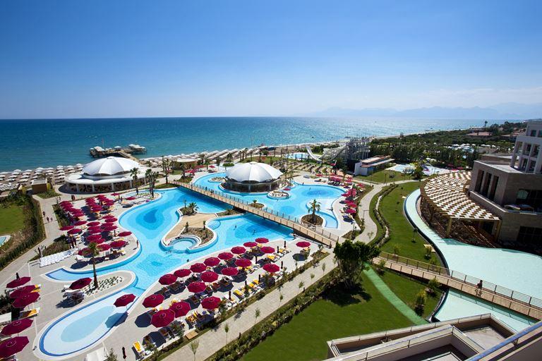 Теннисный турнир Antalya Open в отеле Kaya Palazzo Golf Resort