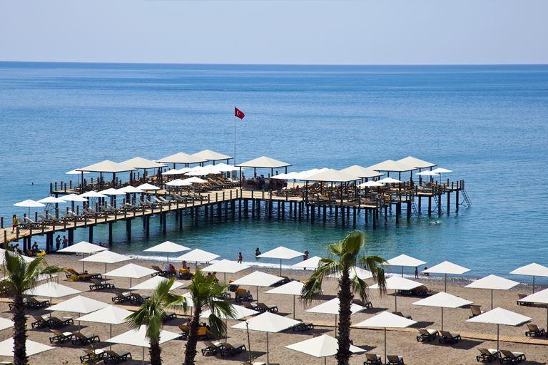 Теннисный турнир Antalya Open в отеле Kaya Palazzo Golf Resort - берег Средиземного моря