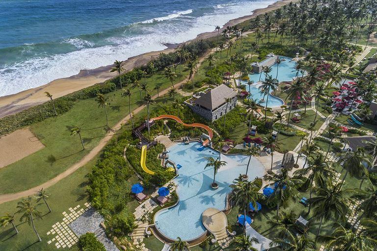 Курортный отель Shangri-La's Hambantota Golf Resort & Spa - вид на Индийский океан