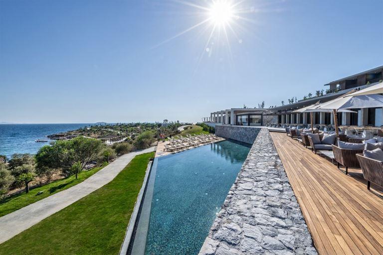 Six Senses Kaplankaya (Бодрум, Турция) - отель с открытым бассейном на берегу моря