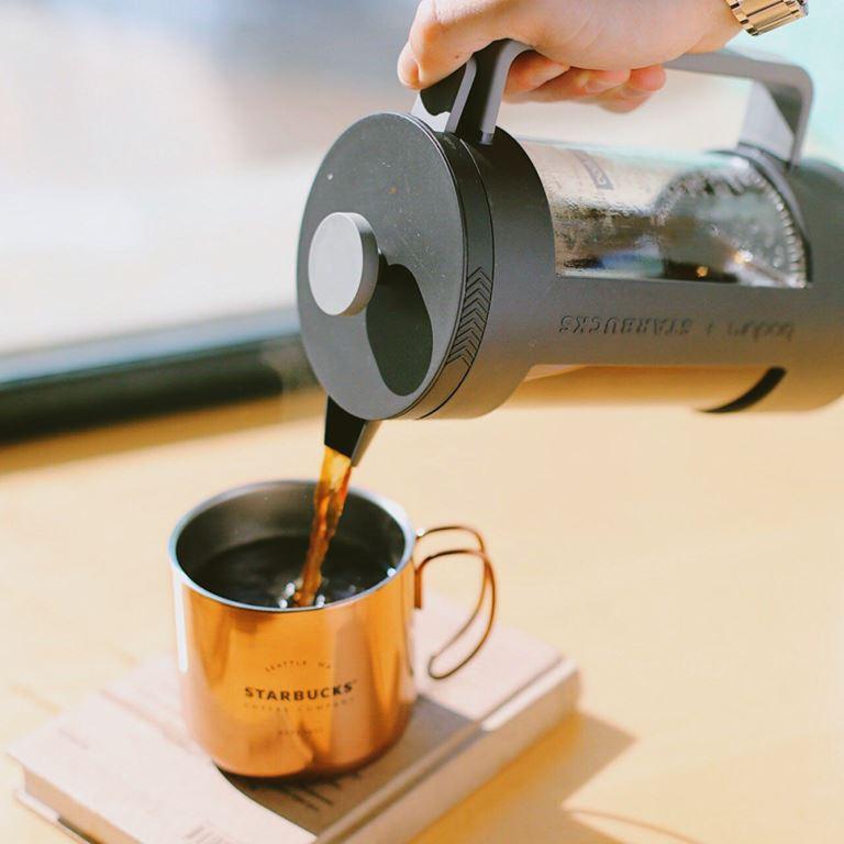 Starbucks - кружка и френч-пресс для кофе